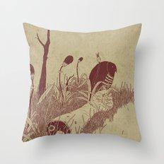 Helvete Forest Throw Pillow