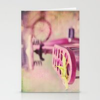 I Rode My Bicycle Past Y… Stationery Cards