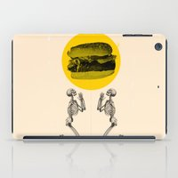 Hamburger Pray iPad Case