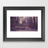 One Winter's Eve Framed Art Print