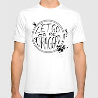 Let Go Mens Fitted Tee White SMALL