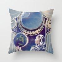 A Princess's Lament Throw Pillow