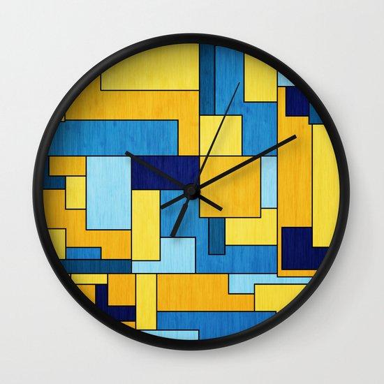 Switch Reverse Wall Clock