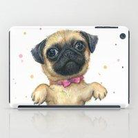 Pug In A Tutu | Cute Dog… iPad Case