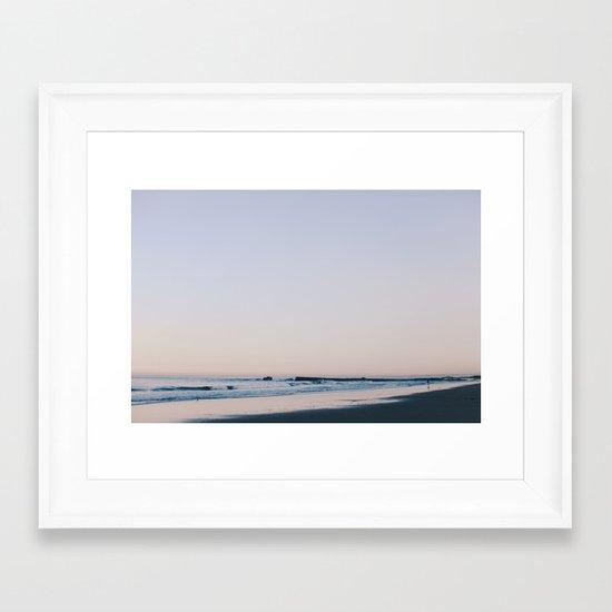 violet & indigo Framed Art Print