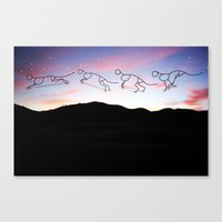 Cycle Canvas Print