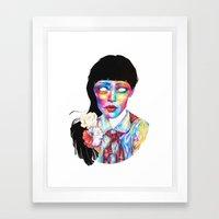 Ludmila Framed Art Print