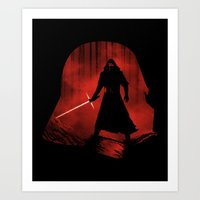 A New Dark Force Art Print