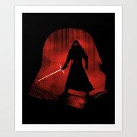 A New Dark Force Art Print