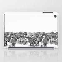 Zebra Print iPad Case