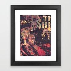 The Sopranos (in Memory … Framed Art Print