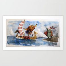 Viking Art Print