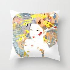 SYNTHESIZE Throw Pillow