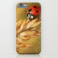 iPhone & iPod Case featuring Lady on a Grass by J Coe Photography