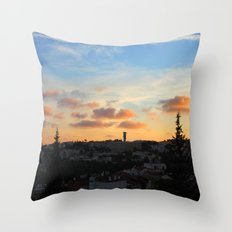 Jerusalem of Light Throw Pillow