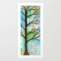 The Blue Hour  Art Print