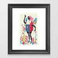 Haus Framed Art Print