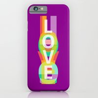iPhone & iPod Case featuring Love by Inspire me Print