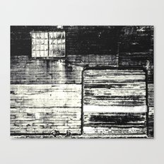 decayed Canvas Print