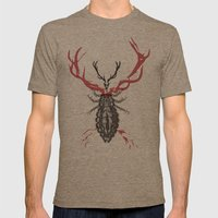 Hannibal's Totem Mens Fitted Tee Tri-Coffee SMALL