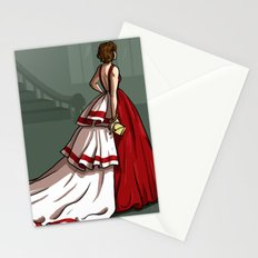 Red Gown Stationery Cards