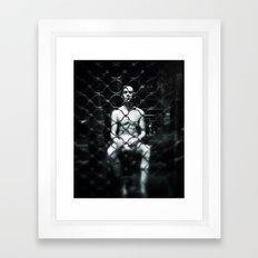 In my prison Framed Art Print