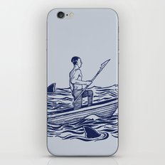 Troubled Waters iPhone & iPod Skin