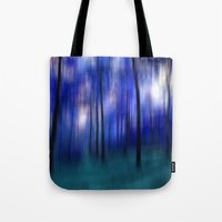 forest abstract Tote Bag
