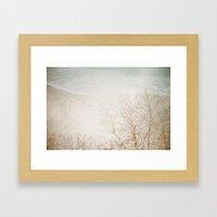 Overplay Framed Art Print
