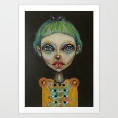 girld Art Print