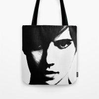 Slender Face Tote Bag