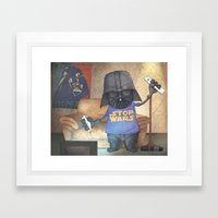 Stop Wars Framed Art Print