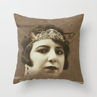 ghammm Throw Pillow