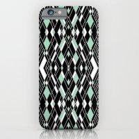 Art Deco Mint iPhone 6 Slim Case