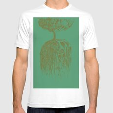 One Tree Planet *remastered* Mens Fitted Tee SMALL White