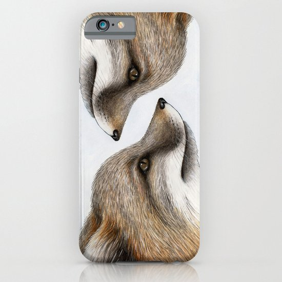 Grey Fox iPhone & iPod Case