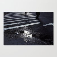 Crack Canvas Print