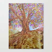 Prosperity Tree Canvas Print
