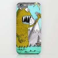 iPhone & iPod Case featuring Sea Beast by Tyson Bodnarchuk