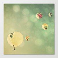 Sunshine & Big Sky Canvas Print