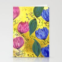 Country Flowers Stationery Cards