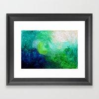 Water No. 1  Framed Art Print