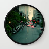 Neon Summer Wall Clock