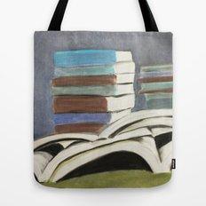 Books - Pastel Illustration Tote Bag