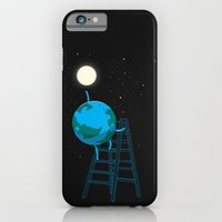 Reach the moon iPhone 6 Slim Case