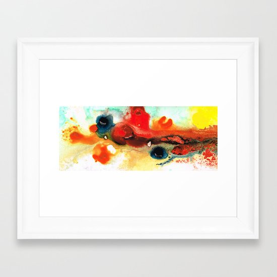 Abstract Art - No Limits - By Sharon Cummings Framed Art Print
