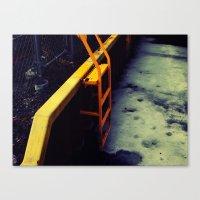 Ladder Canvas Print