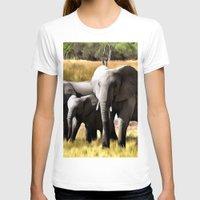 elephants T-shirts featuring Elephants by Regan's World