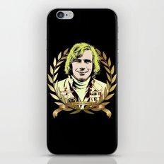 James Hunt iPhone & iPod Skin