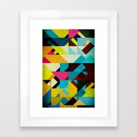 Colorful Game Framed Art Print